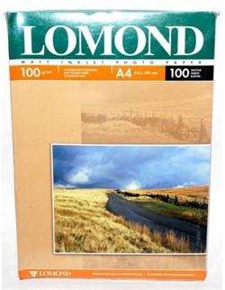 Lomond Матовая двусторонняя бумага А4, 100г/м2, 100 листов     0102002 - фото 4429