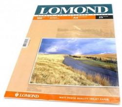 Lomond Матовая двусторонняя бумага А4, 100г/м2, 25 листов     0102038 - фото 4430
