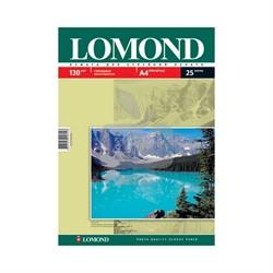 Lomond Глянцевая бумага 1x A4, 130г/м2, 25л.     0102041 - фото 4446