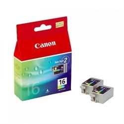 Canon BCI-16 цветная чернильница для iP90/iP90V,SELPHY DS810,DS700 2 шт     BCI-16 color - фото 4462