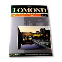 Lomond Матовая бумага 1х A4, 160г/м2, 25 листов     0102031 - фото 4464