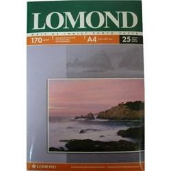 Lomond Матовая двусторонняя бумага A4, 170г/м2, 25 листов     0102032 - фото 4469