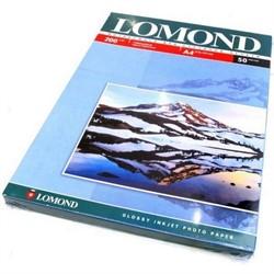 Lomond Глянцевая бумага 1х A4, 200г/м2 50 л.     0102020 - фото 4488