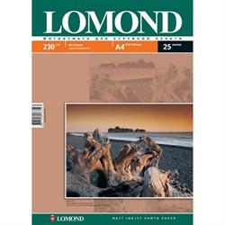 Lomond Матовая бумага 1х А4, 230г/м2, 50л     0102016 - фото 4500