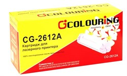 Картридж совместимый Q2612A Colouring 2000 копий     Q2612A/703 - фото 4504