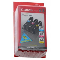 Чернильница CANON CLI-426 CMY (комплект) картриджей для PIXMA MG5140/5240/6140/8140     CLI-426 CMYкомплект - фото 4518