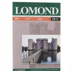 Lomond Матовая бумага 1х A4, 90г/м2 25 листов     0102029 - фото 4555