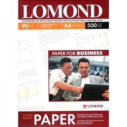 Lomond Матовая бумага 1х A4, 90г/м2 500 листов     0102131 - фото 4556