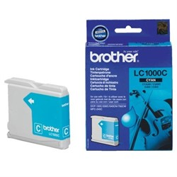 Картридж Brother DCP130C/330С, MFC-240C/5460CN/DCP350 Cyan, 400 pages (5%)     LC1000C - фото 4579