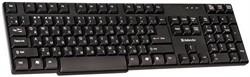 Клавиатура Defender проводная стандарт Accent  930 B (Black), USB влагоустойчивая, компактная     45030 - фото 4592