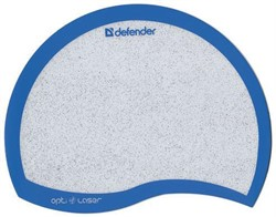 Defender Коврик пластиковый Ergo opti-laser Blue (синий) 215х165х1.2 мм     50513 - фото 4596