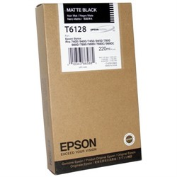 Epson Картридж Stylus Pro 7800/9800/7880/9880 (220 ml) матовый черный     T612800 - фото 4613