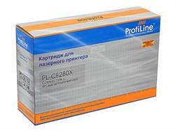 Картридж PL-CF280X для принтеров HP LaserJet Pro400/M401/426 6900 копий ProfiLine     CF280X - фото 4616