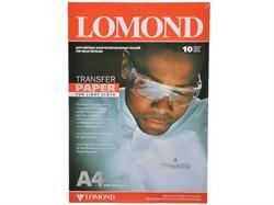 Lomond Бумага А4 для термопереноса на светлые ткани, 50 л. (цена за 1 лист), струйная печать     0808415 - фото 4629