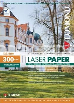 Lomond Бумага матовая  А4 300 г/м2 двустор. для цв.лаз.принтеров150л     0300743 - фото 4650