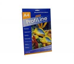 Profiline Пленка золотистая рельефная металлизированная для стр. принт. 0,125 мм, А4, 20л, цена за 1 лист - фото 4685
