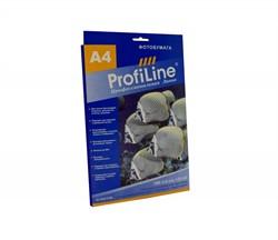 Profiline Пленка золотистая матовая металлизированная для струйных принтеров, 0,125мм, А4, 20л - фото 4686