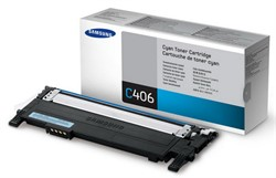 Samsung Картридж CLP-360/365/368/CLX-3300/3305 1.0K Cyan     CLT-C406S - фото 4693