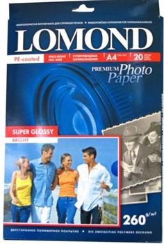 Lomond Суперглянцевая фотобумага  1x 260 г/м2 A5 20 л (210x148мм)     1103104 - фото 4724