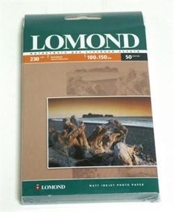 Lomond Матовая фотобумага 10x15 230г/м2, 50л.     0102034 - фото 4769