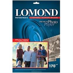 Lomond Суперглянц. Фотобумага 1x 170г/м2, A4, 20л.     1101101 - фото 4783