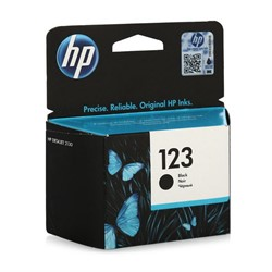 Картридж Hewlett-Packard HP 123 Black (Черный) для HP Deskjet Ink (120 стр)     F6V17AE - фото 4844