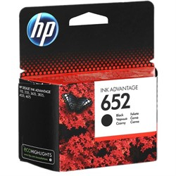 Картридж 652 Black (Черный) для HP DJ Advantage 1115/2135/3635/3835/4535     F6V25AE - фото 4856