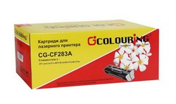Картридж совместимый HP CF283А LJ Pro MFP M125/M127 1500 копий Colouring     CF283А - фото 4903