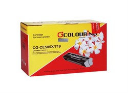 Картридж совместимый CE505X Colouring 6500 копий     CE505X - фото 4907