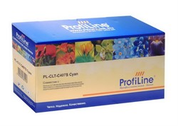 Картридж PL-CLT-C407S для принтеров Samsung CLP-320/325/CLX-3180/3185 Cyan 1000 копий ProfiLine     CLT-C407S - фото 4931