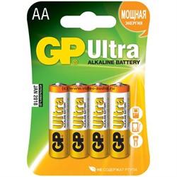 Батарейка AA, GP Ultra (1 шт.)     LR06 - фото 4950