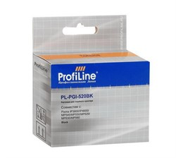 Чернильница CANON PGI-520 BK ProfiLine с чипом     PGI-520 BK - фото 4972