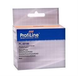 Картридж для Epson Stylus Photo R200/R220/R300/R300M/R320/R325/R340/RX500/RX600/RX620 Black ProfiLine     48140 - фото 5010