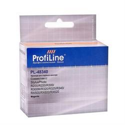 Картридж для Epson Stylus Photo R200/R220/R300/R300M/R320/R325/R340/RX500/RX600/RX620 Magenta ProfiLine     48340 - фото 5014