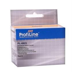Картридж для Epson Stylus R270/R290/R295/R390/RX590/RX610/RX615/RX690/1410/TX700W/TX800FW/T50 Magenta ProfiLine     0823 - фото 5020