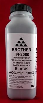 Тонер Brother TN 2080/2090 HL 2240/2140/2130/2132/2135 (фл.100г) AQC- фас.России     AQC-217 - фото 5032