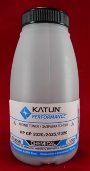 Тонер HP CP2020/2025/2320 Black, химический (фл. 100г) Katun фас. России     2020 - фото 5048