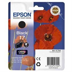 Картридж Epson для  Expression Home XP103/203/207 черный     T17014A10 - фото 5177
