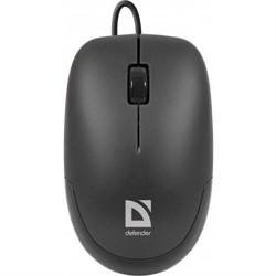 Defender Мышь Datum MM-010 Black (Черн), USB 2кн+кл,1000 dpi     52010 - фото 5268