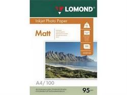 м/95/100 Lomond Матовая бумага 1х A3, 95г/м2, 100 листов     0102129 - фото 5285