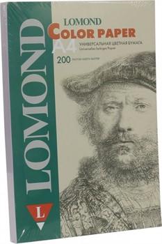 Офисная цветная бумага Lomond Cиреневый, A4, 80 г/м2, 200 листов.     1004212 - фото 5288