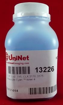 Тонер SAMSUNG CLP 310/315 cyan (флакон 45 г) 1000 стр.  (Uninet)     13226 - фото 5323