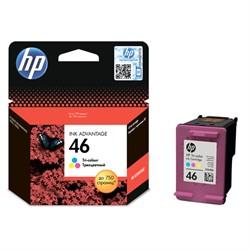 46 Картридж Hewlett-Packard цветной для DJ 2020/2520/4729     CZ638AE - фото 5538