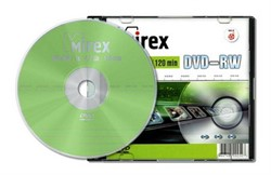Диск DVD-RW Mirex 4.7 Gb, 4x, Slim Case     202547 - фото 5557