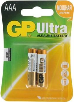 Батарейка AAA, GP Ultra(1 шт.)     LR03 - фото 5707