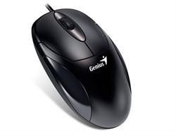Мышь GENIUS XScroll V3, USB, G5 чёрный (black, optical 1000dpi, подходит под обе руки)     31010233100 - фото 7807