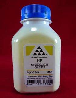 Тонер HP CP2020/2025/CM2320/M351/M375/M451/M475 Yellow (фл. 80г) AQC фас. Россия     AQC-234Y - фото 9474