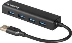 Defender Универсальный USB разветвитель Quadro Express USB3.0, 4 порта     83204 - фото 9924