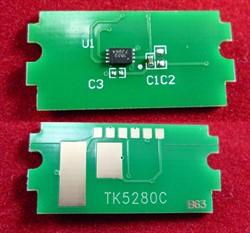 Чип для Kyocera Ecosys P6235cdn/M6635cidn (TK-5280C) Cyan, 11K ELP Imaging®     TK5280 - фото 9960