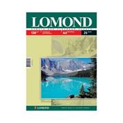 Lomond Глянцевая бумага 1x A4, 130г/м2, 25л.     0102041